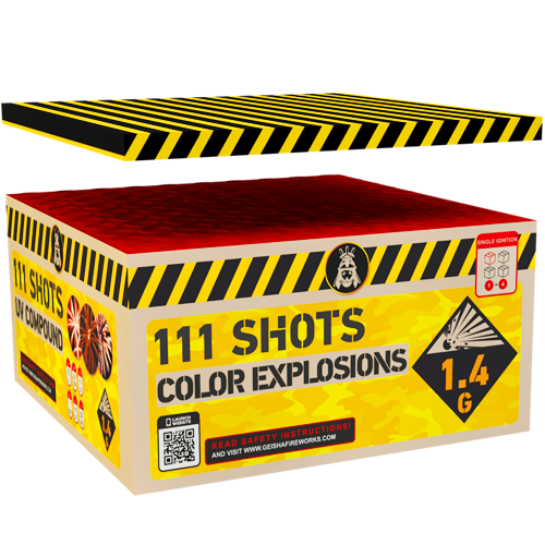 COLORFUL EXPLOSIONS, 111 sh. COMPOUND!