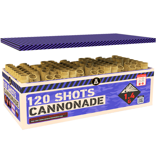 CANNONADE, 120 sh., COMPOUND!
