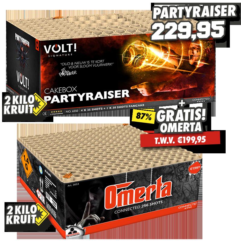 Partyraiser + Omerta