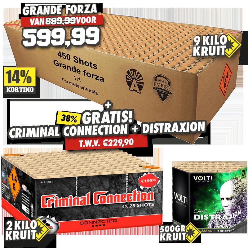 Grande Forza + Criminal Connection+Distraxion