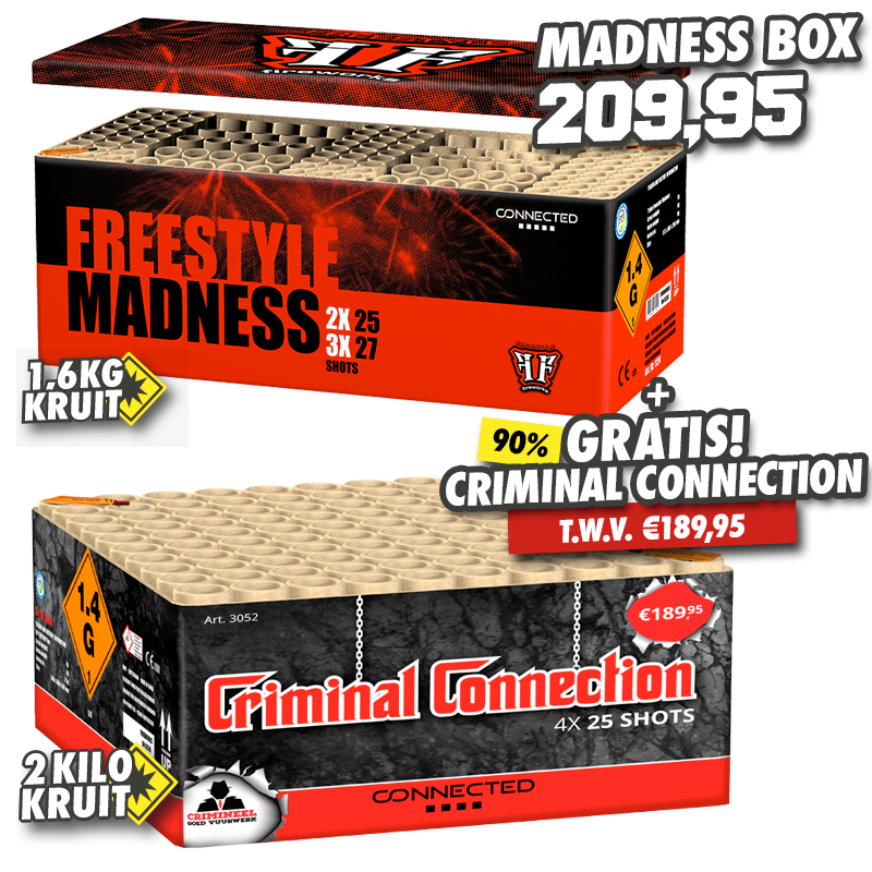 Madness Box + Criminal Connection