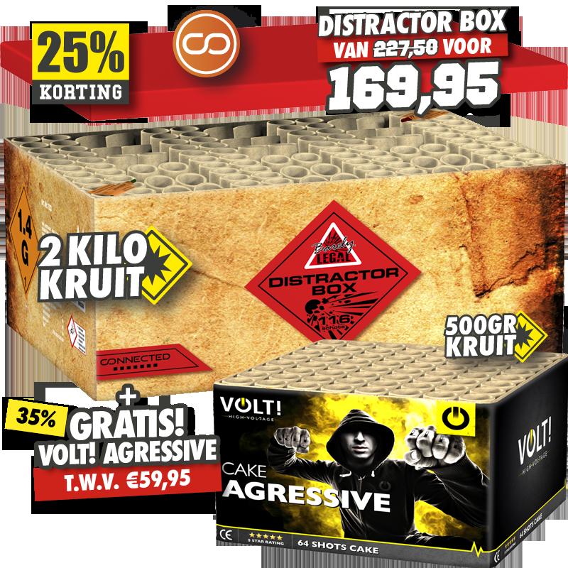 Distractor Box + Agressive