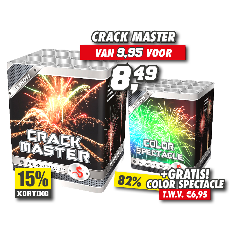 Crack Master + Color Spectacle