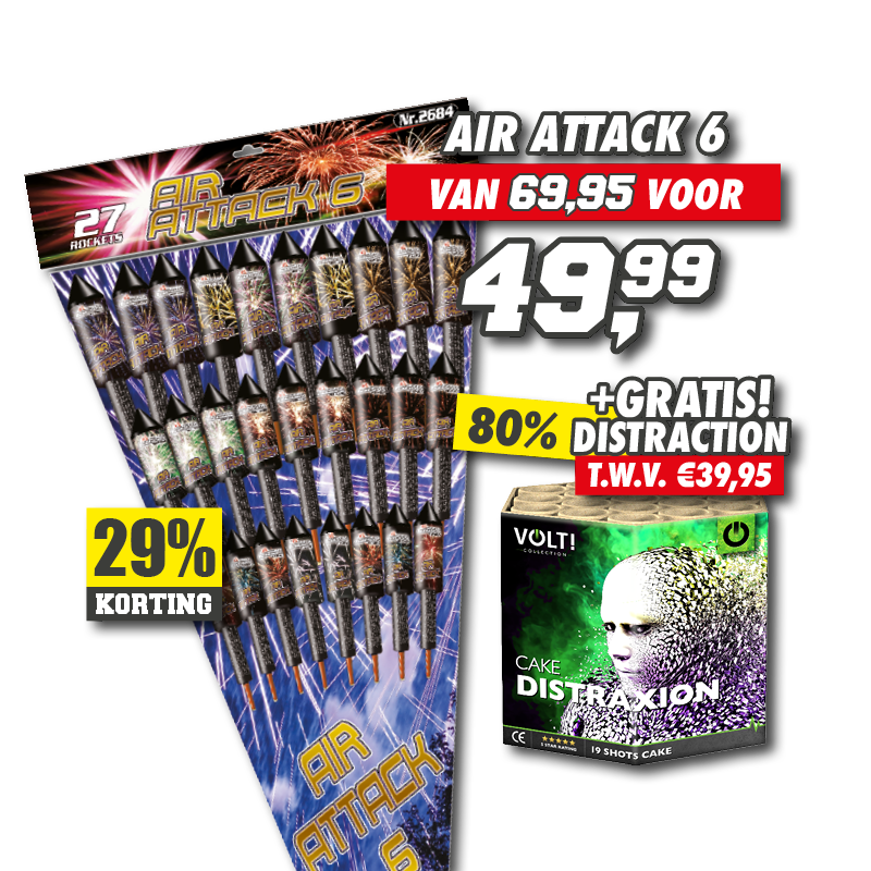 Air Attack 6 + Distraxion