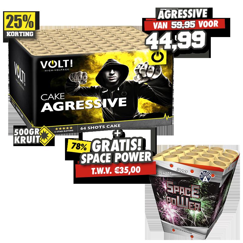 Agressive + Space Power
