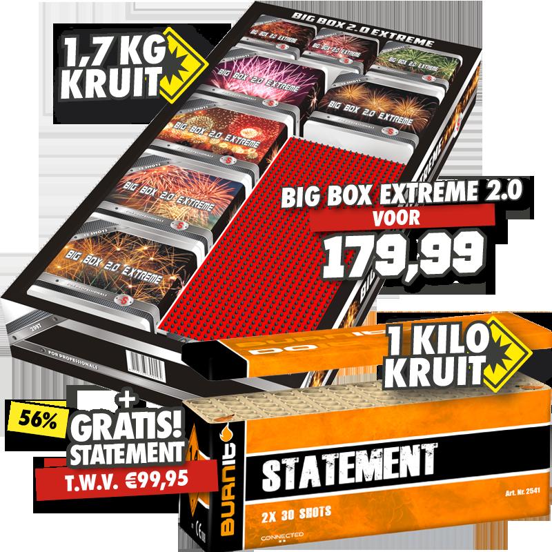 Big Box Extreme 2.0 + Statement Box