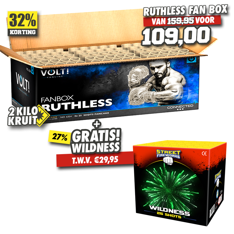 Ruthless Fan Box + Wildness