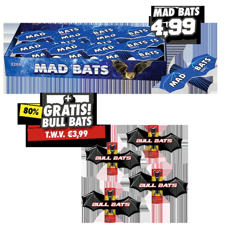 Mad Bats + Bull Bats