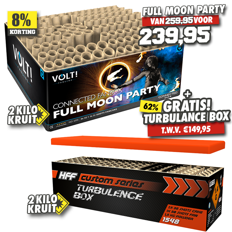 Full Moon Party + Turbulance Box