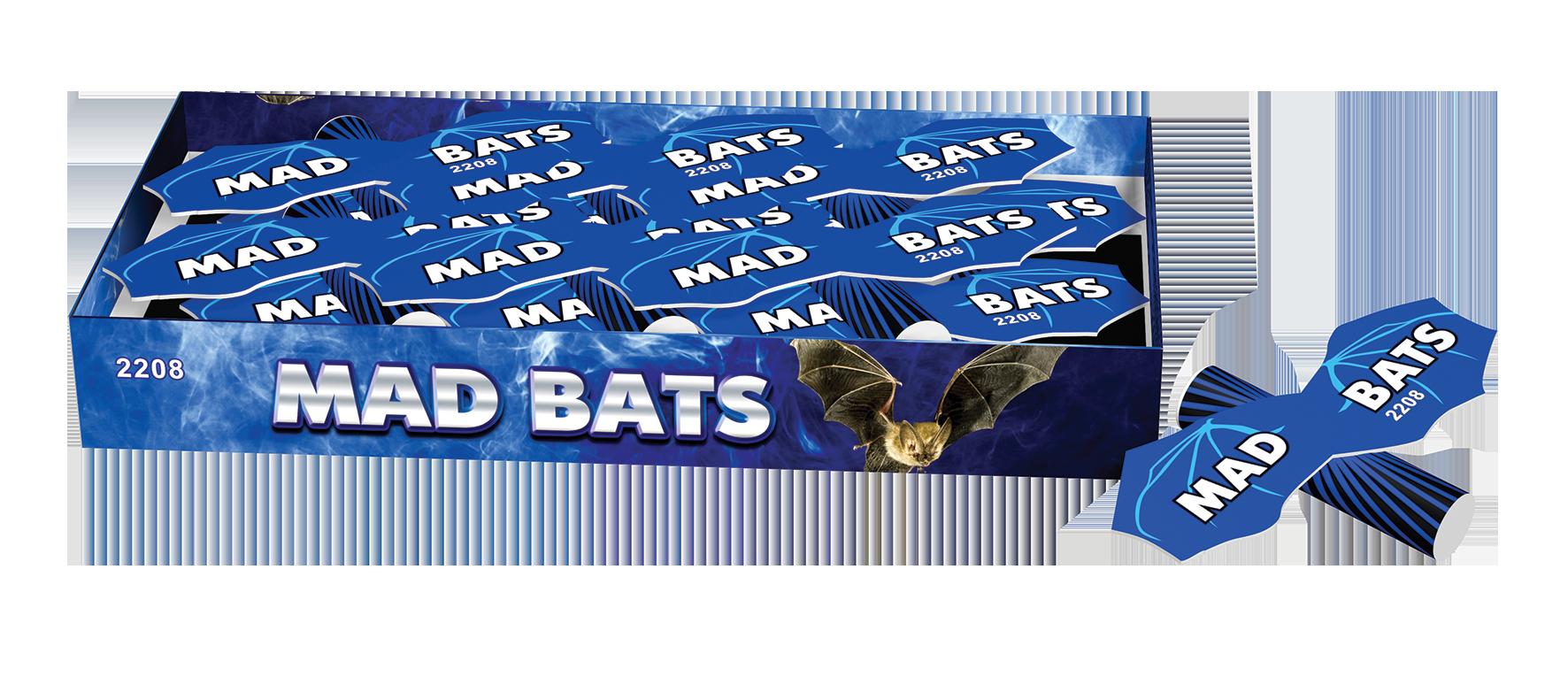 Mad Bats (12 stuks)