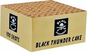 Black Thunder 100 S Cake