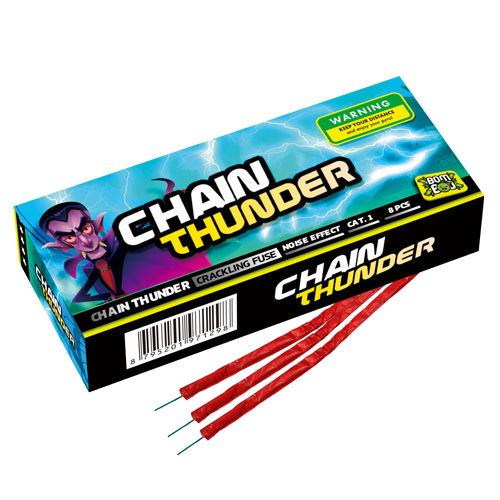 CHAINTHUNDER (8 stuks)