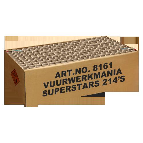 VUURWERKMANIA SUPERSTARS 214'S