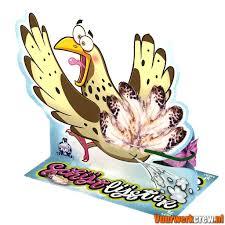 Schijtlijster (poepende vogel)