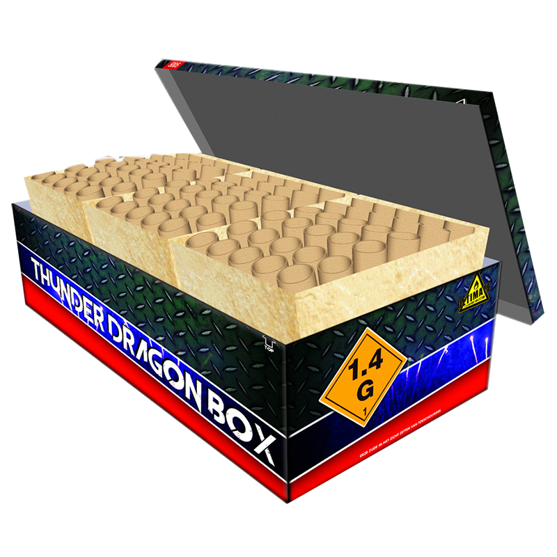 NR 358:  THUNDER DRAGON BOX 90'S