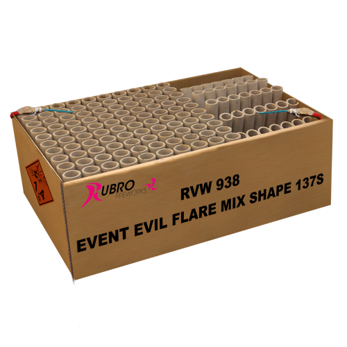 NR 308: EVENT EVIL FLARE MIX SHAPE 137'S
