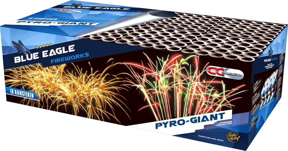 NR 391: BLUE EAGLE PYRO GIGANT