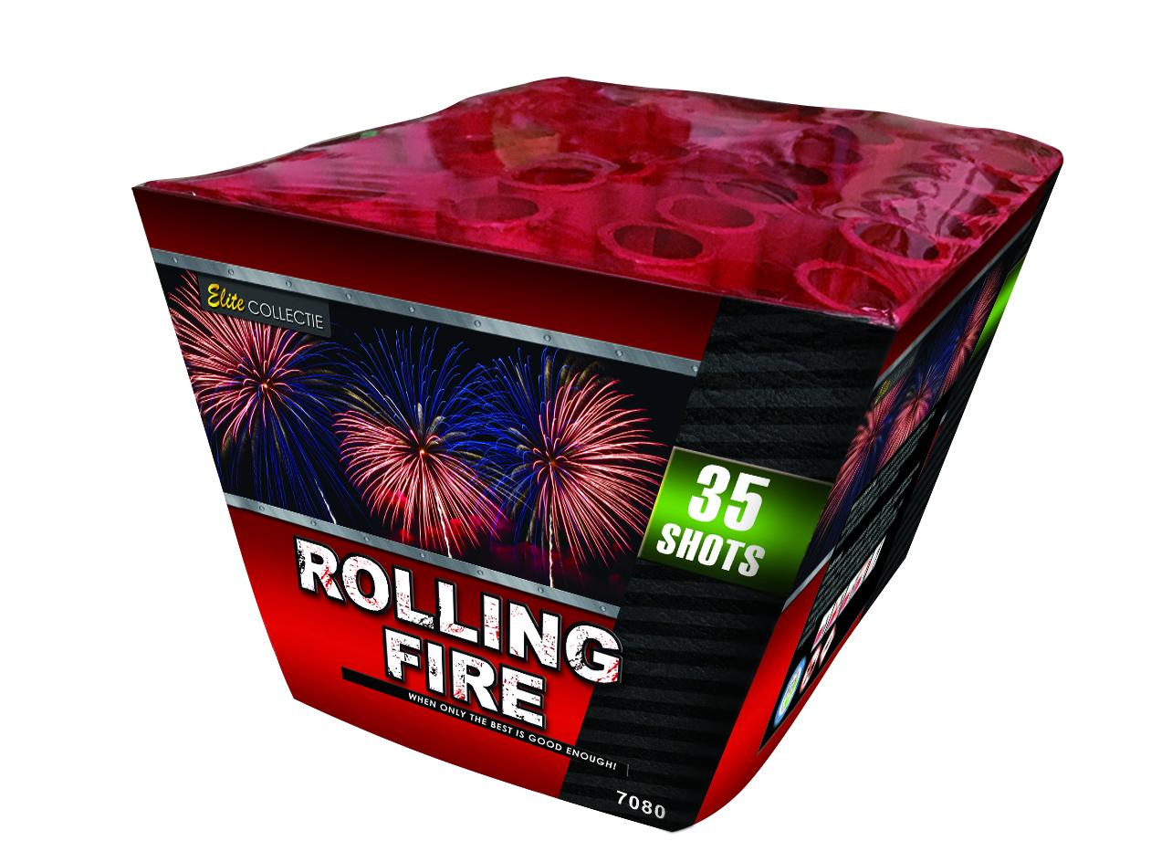 NR 144: ROLLING FIRE 35'S