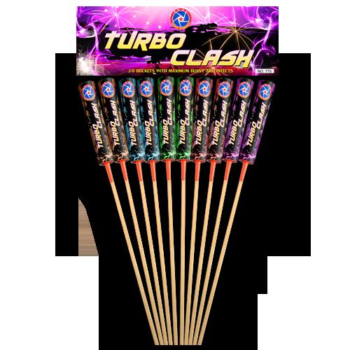 NR 247: HEAVY LEGEND TURBO CLASH ROCKETS