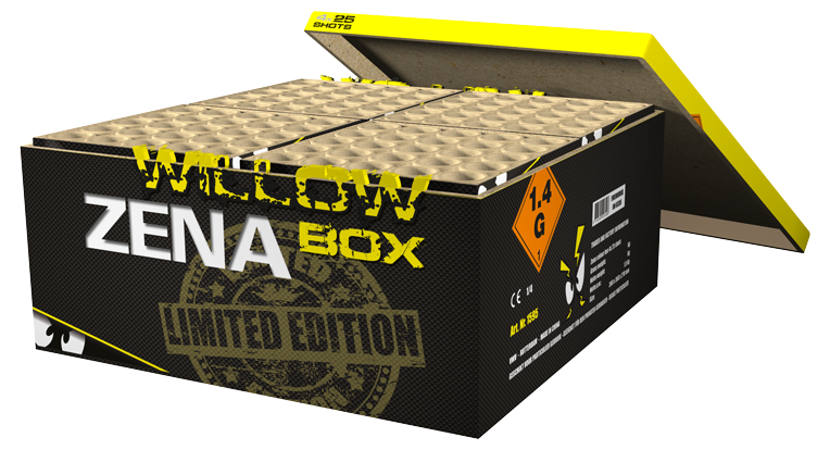 Zena Golden Willow Box