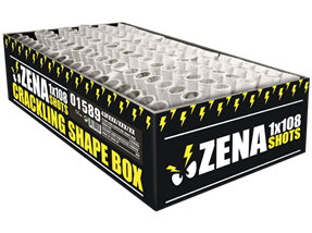Zena crackling shape box