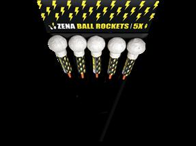 Zena ball rockets
