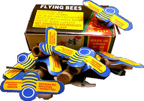 Flying Bees   (12 bijtjes)