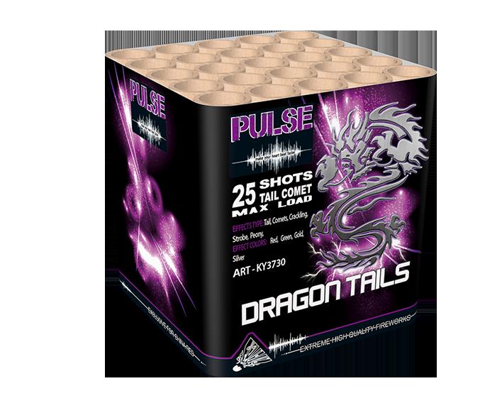 Dragon tail cake 25 shots