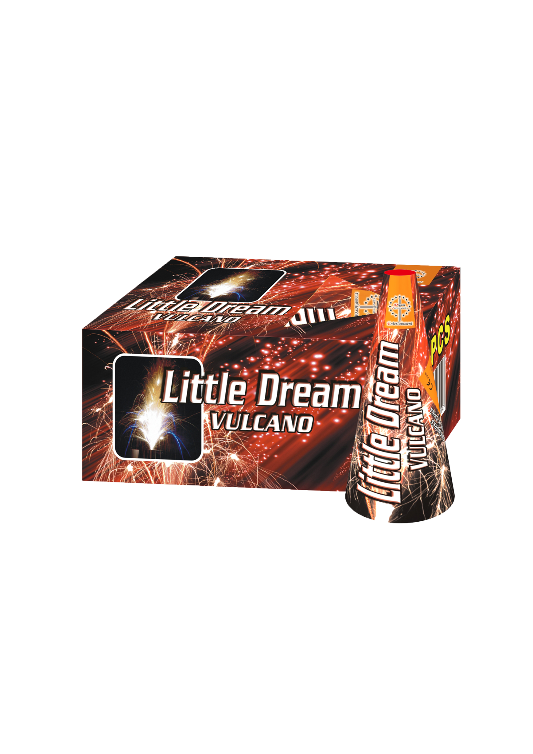 The Little Dream Vulcano 2 stuks