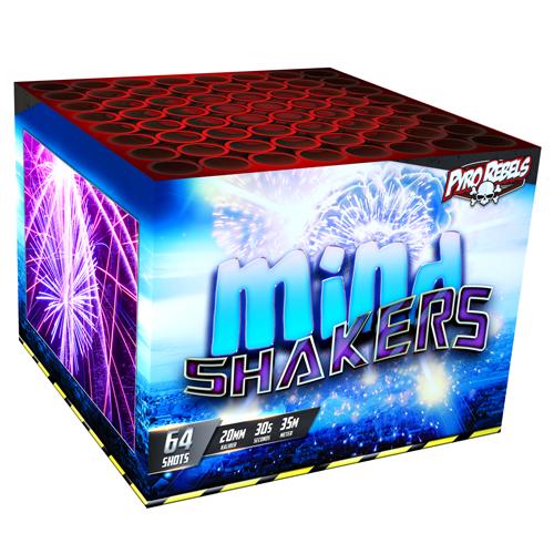 MIND SHAKER, 64shots 500 Gram !!