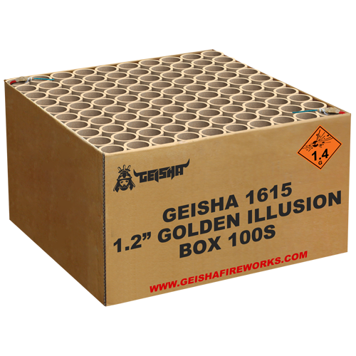 "1.2"" GOLDEN ILLUSION NEW"