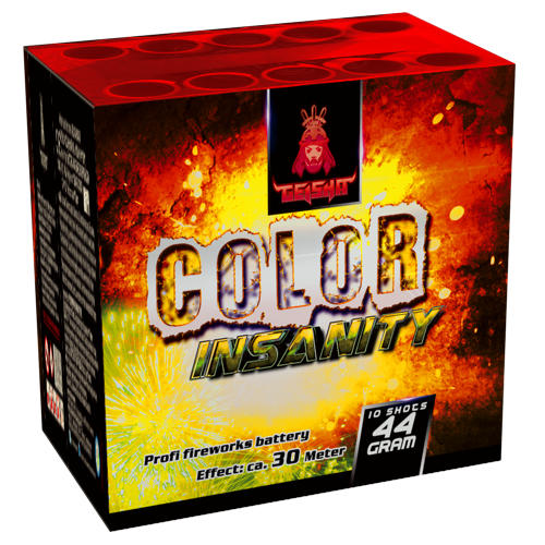 AFTERSHOCK COLOR INSANITY 2 CAKES