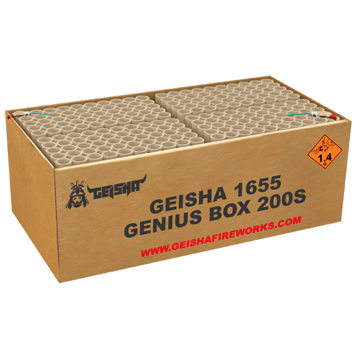 GENIUS BOX, 200 shots!