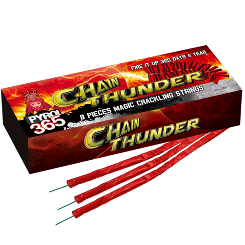 Chainthunder , 8 stuks