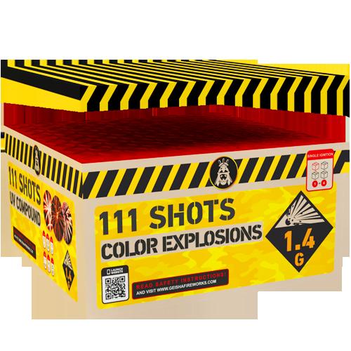 COLORFUL EXPLOSIONS 111shots COMPOUND