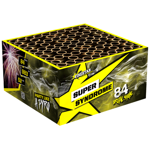 SUPER SYNDROME  BOX 84 shots