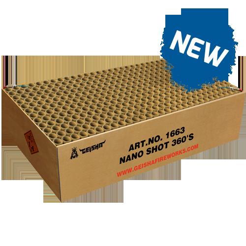 NANO SHOT, 360 SHOTS! 5KG KRUIT !!
