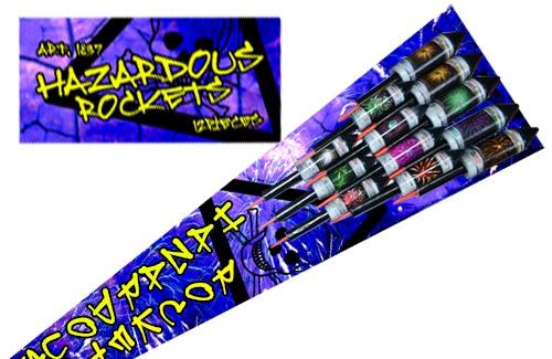 Hazardous rockets