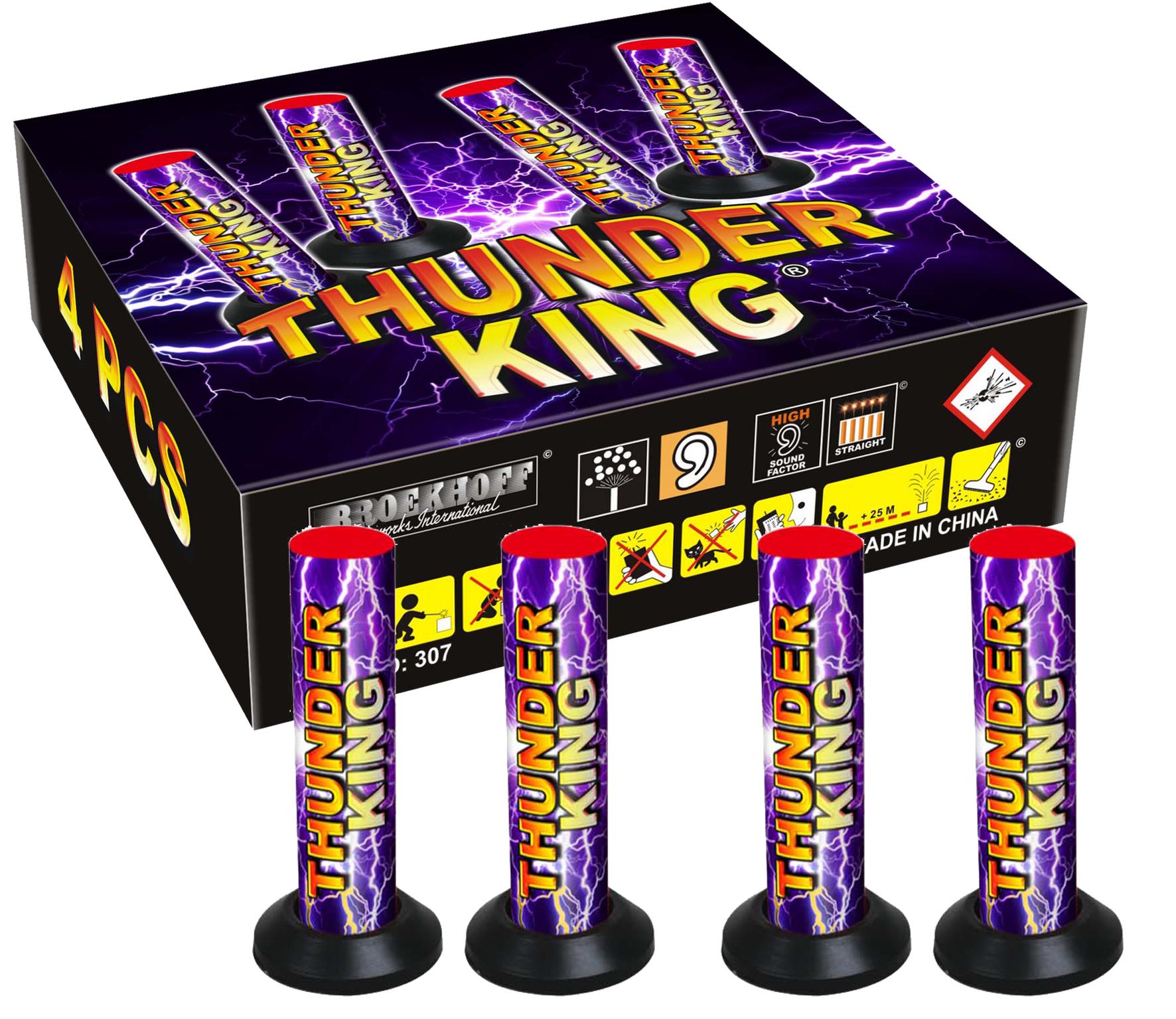 ThunderKing 4-pack