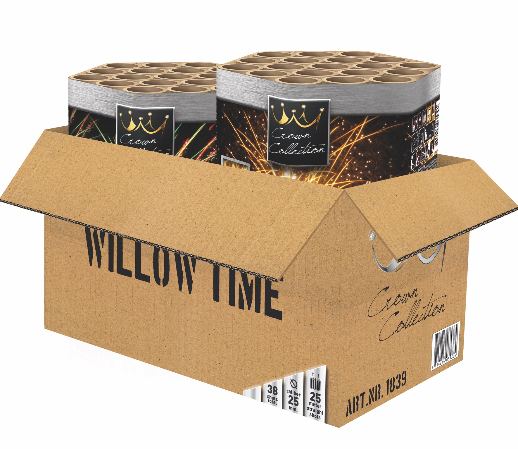 Willow Time 2 cakes / 38 schoten