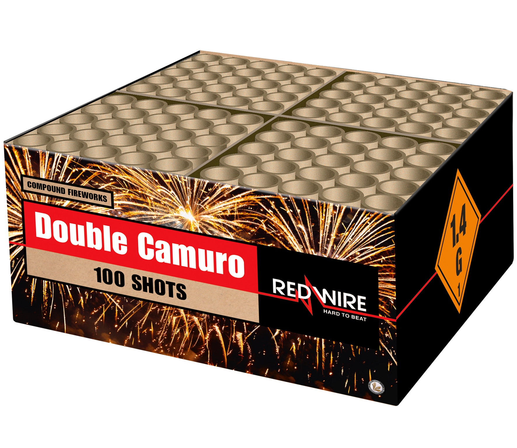 Double Camuro 100 schots