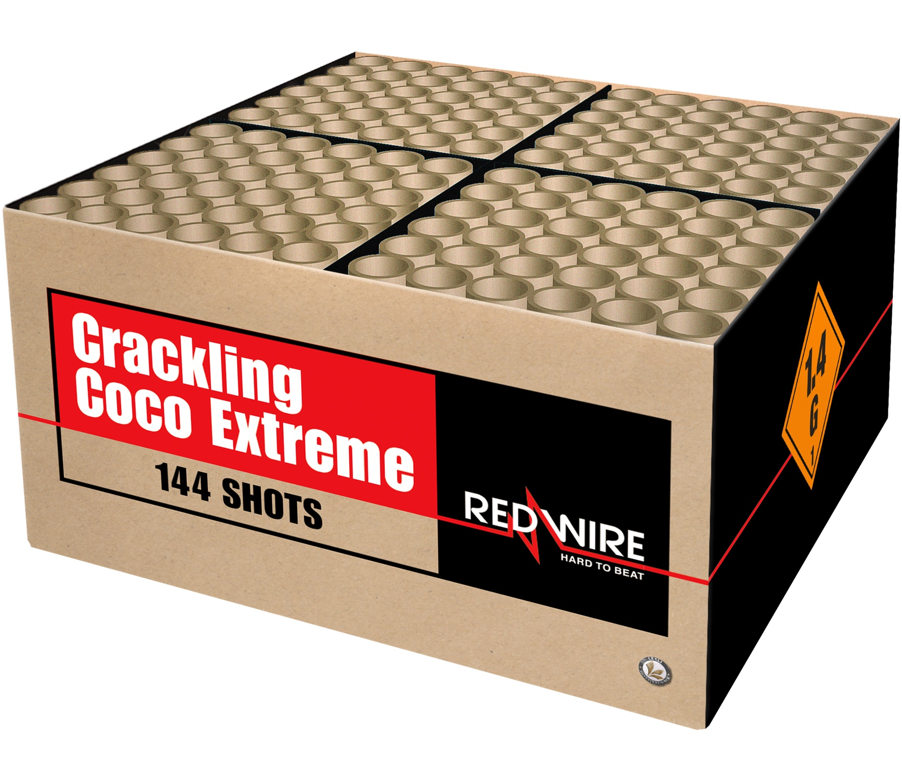 Crackling Coco Extreme 144 schots