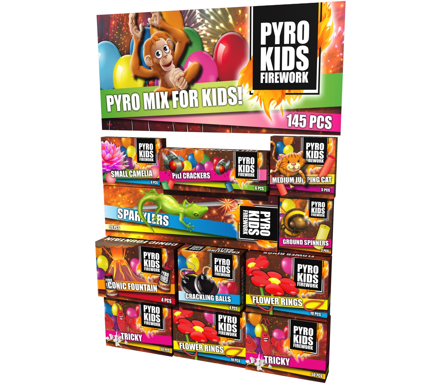 Pyro Kids Assortie