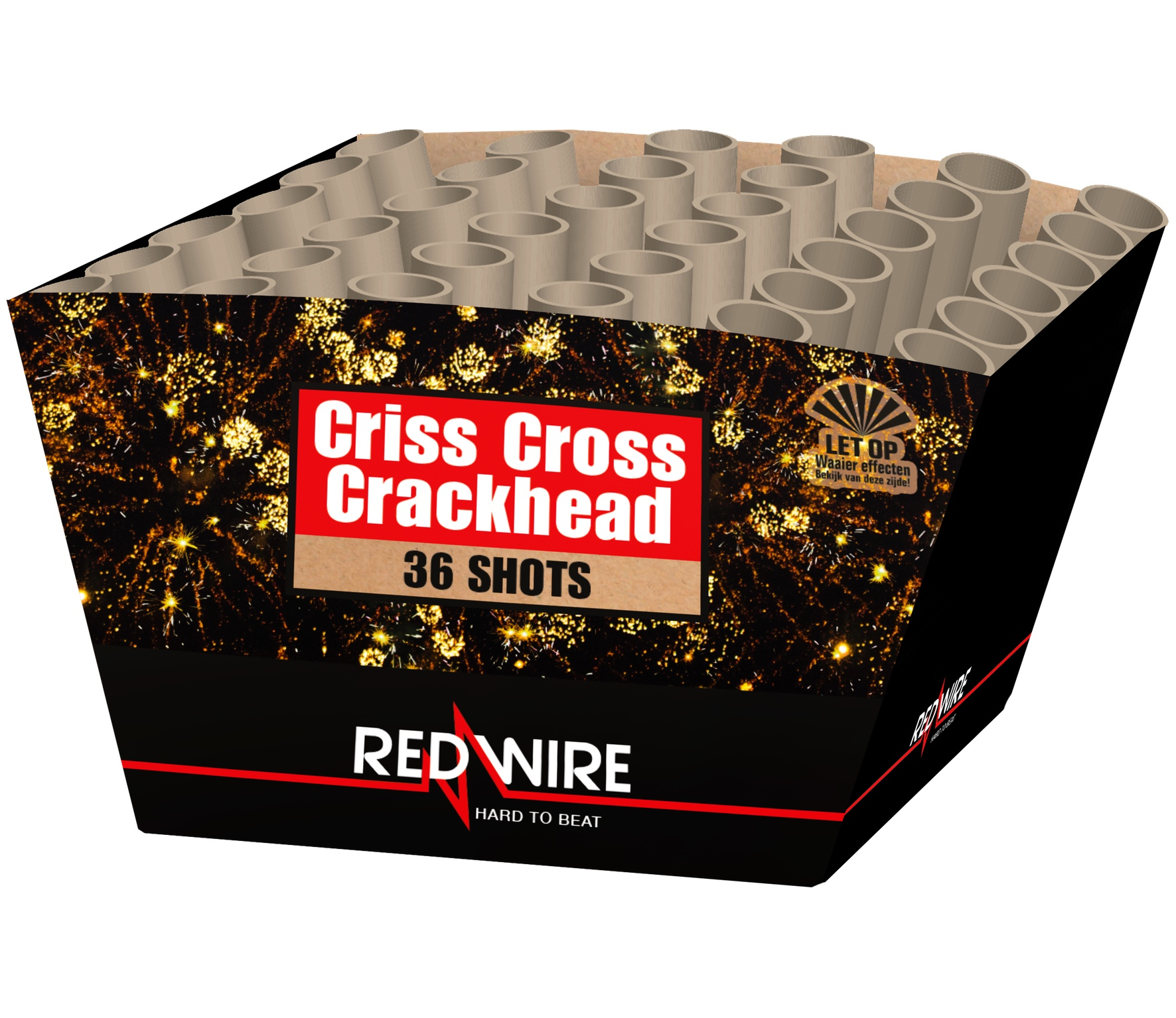 Criss Cross Crackhead 36 schots