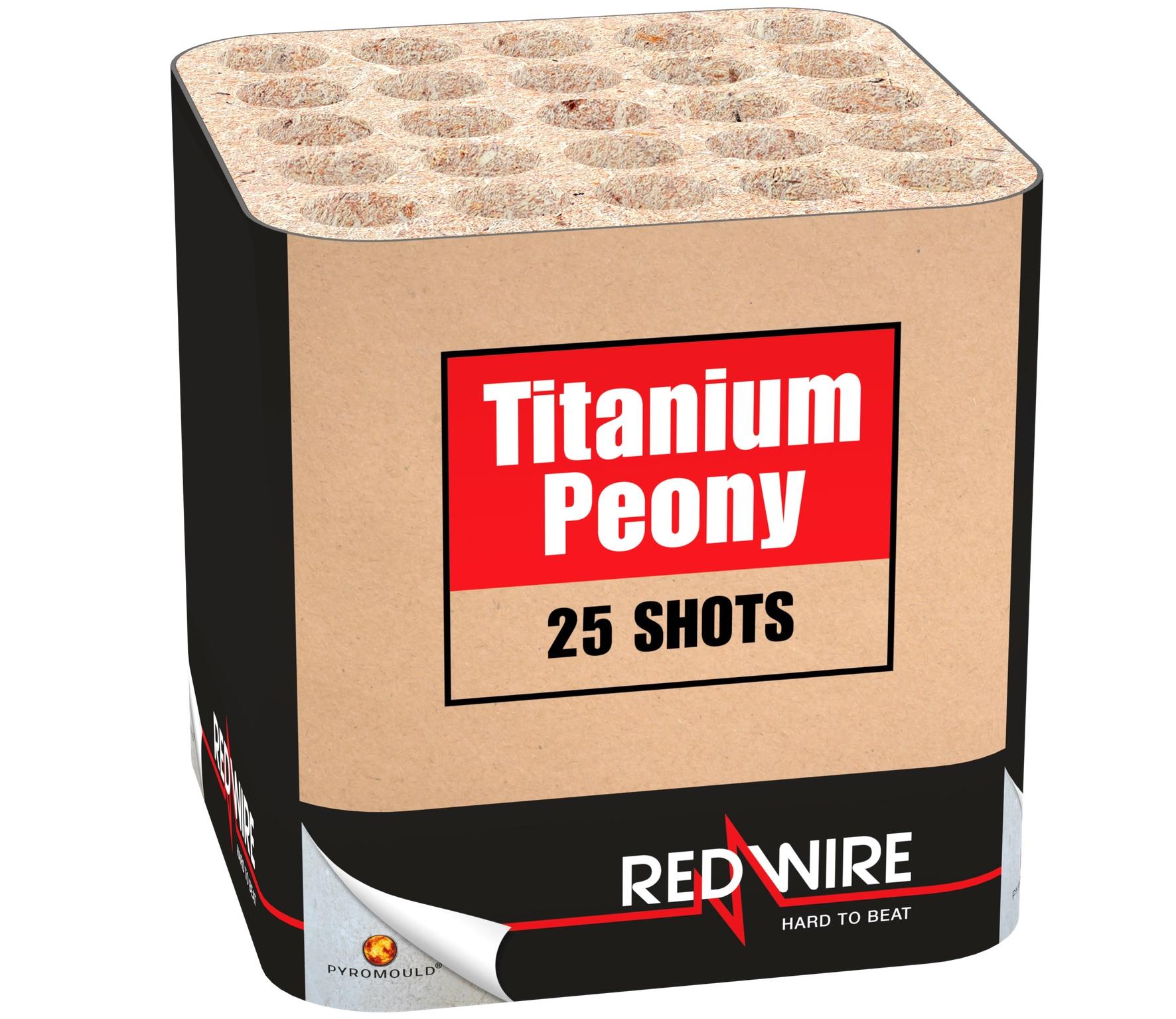 Titanium Peony 25 schots