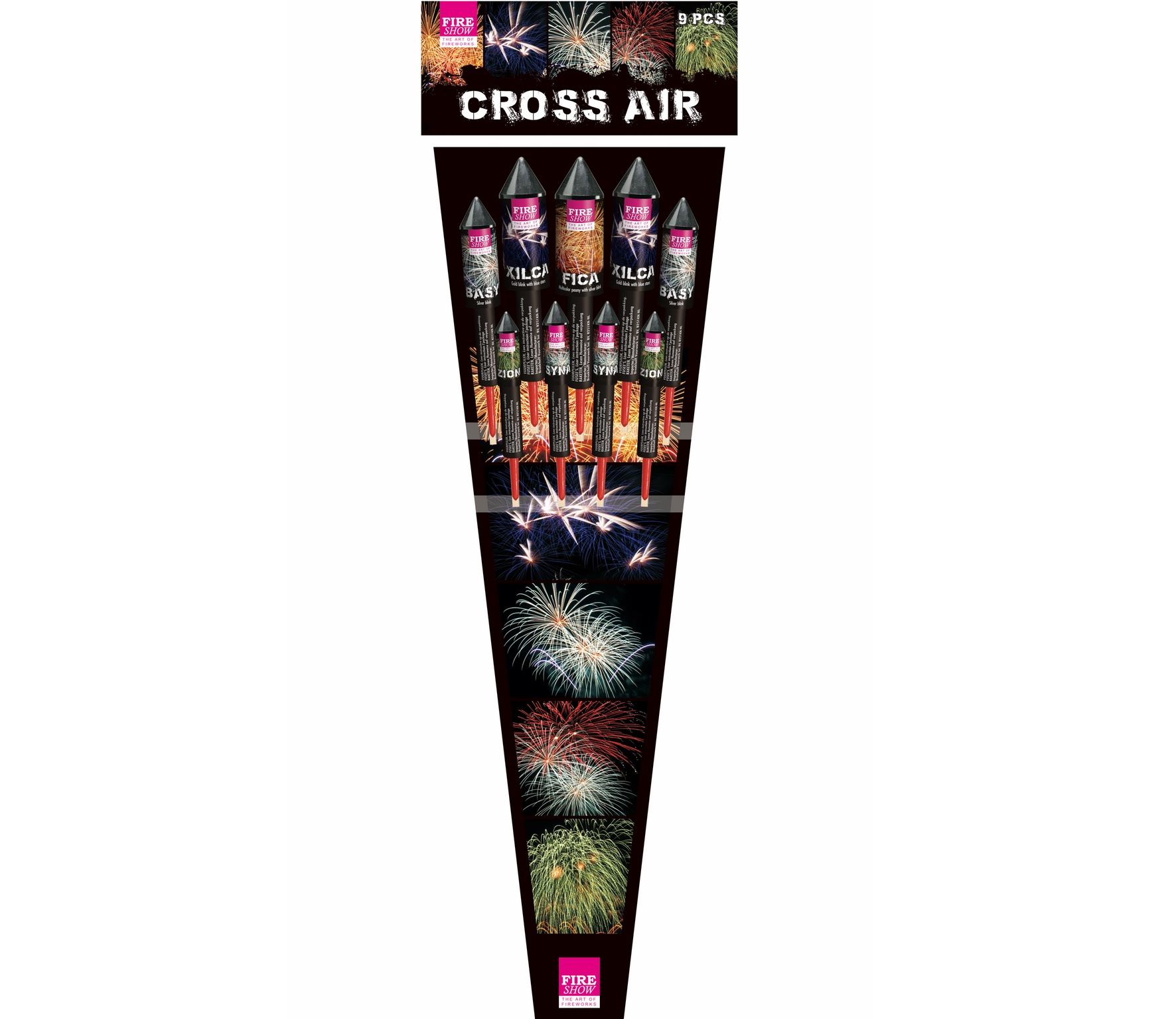 Cross Air 9 stuks