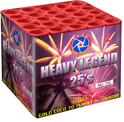 Karton Heavy legend 25 shots