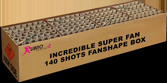 Incredible Fan Box (omlabeling Golden Tarantula)