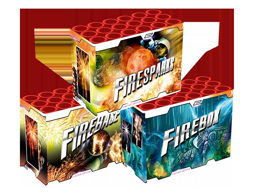FireKit Cakes 3 stuks!