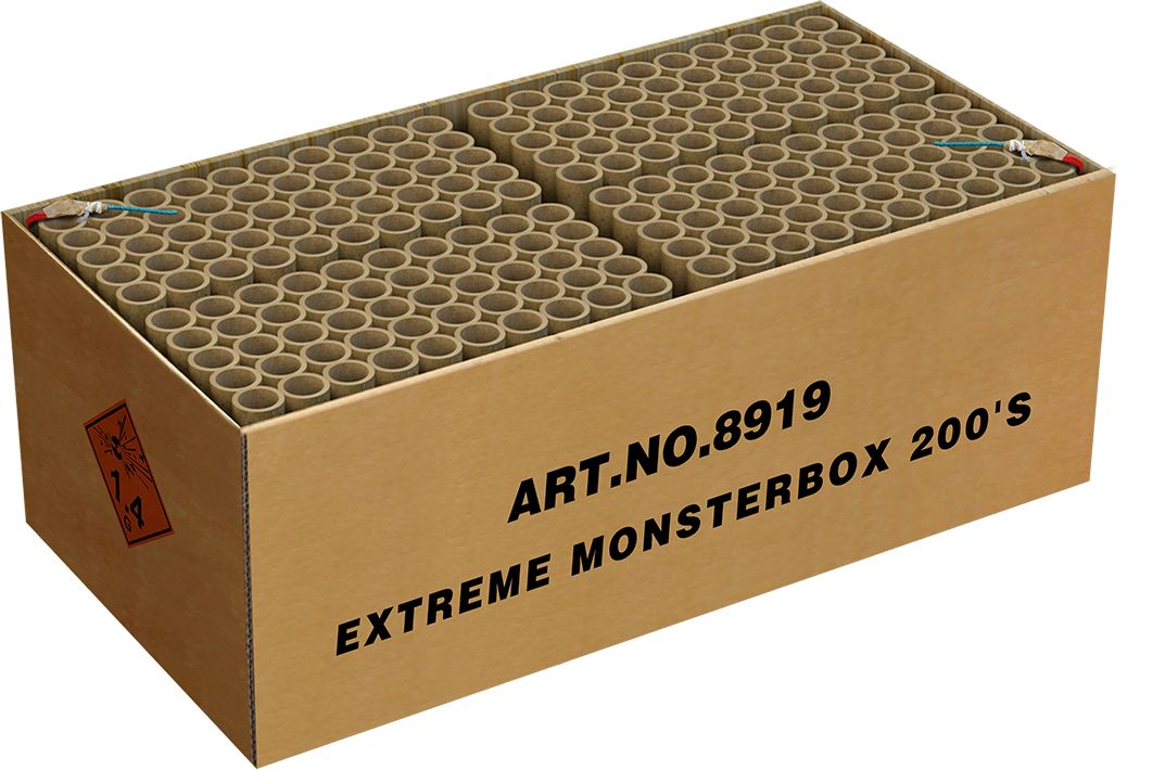 Extreme Monsterbox 200 shots